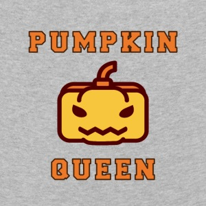 Halloween Pumpkin Queen. Pumpkin. Haunted or donated - Kids' Premium Longsleeve Shirt