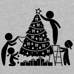 Family Under The Christmas Tree - Kids' Premium Longsleeve Shirt