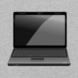 laptop - Premium langermet T-skjorte for barn