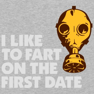 I Like To Fart On The First Date. - Kids' Premium Longsleeve Shirt