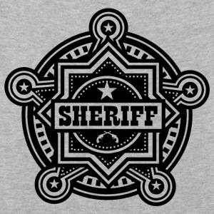 Sheriff eller Marshall Badge - Premium langermet T-skjorte for barn