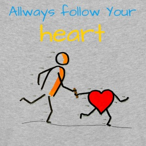 Allways follow Your heart - Kids' Premium Longsleeve Shirt