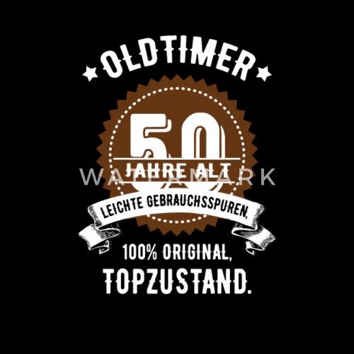 Geburtstag 50 Jahre Oldtimer Kinder Premium Langarmshirt Spreadshirt