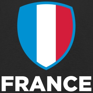 Drapeau national de la France - T-shirt manches longues Premium Enfant