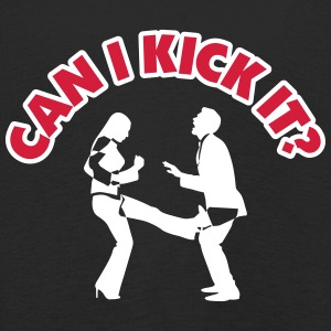 Can I Kick You In The Balls? - Kids' Premium Longsleeve Shirt