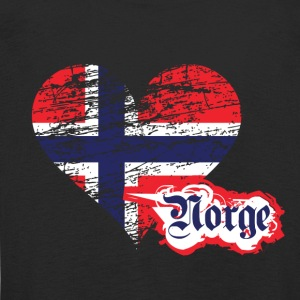 A heart for Norge - Kids' Premium Longsleeve Shirt