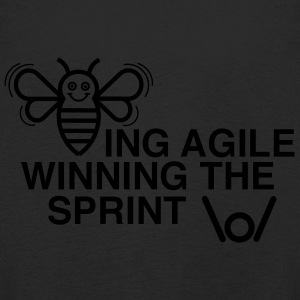 BEING AGILE WINNING THE SPRINT - Kids' Premium Longsleeve Shirt