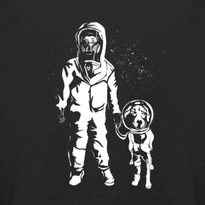Space Women with dog - Kids' Premium Longsleeve Shirt