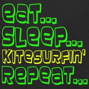 EAT SLEEP KITESURFING REPEAT - T-shirt manches longues Premium Enfant
