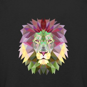 Lion mandala lion yoga meditation king jungle - Kids' Premium Longsleeve Shirt