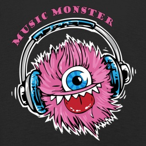 Music Monster - DJ - Party - Kinder Premium Langarmshirt