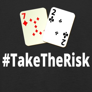 Take The Risk 72o Poker - Kinder Premium Langarmshirt