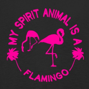 Flamingo My Spirit Animal - Långärmad premium-T-shirt barn