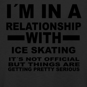 relationship with ICE SKATING - Kinder Premium Langarmshirt