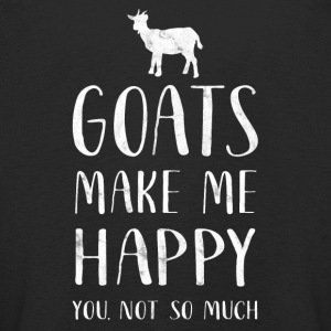Goats make me happy, you are so much - Goat Shirt - Kids' Premium Longsleeve Shirt