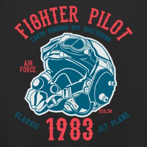 Fighter Pilot2 - Kids' Premium Longsleeve Shirt