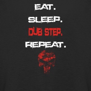 eat sleep repeat geschenk DUB STEP - Kinder Premium Langarmshirt