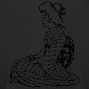 Japanese woman - Kids' Premium Longsleeve Shirt