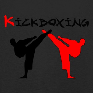 Kickboxer Fight MMA Shadow Muy Thai - Kids' Premium Longsleeve Shirt