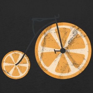 Fruit / Fruit: orange - orange bicycle - Kids' Premium Longsleeve Shirt
