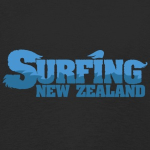 NEW ZEALAND Surfing Water Country - Premium langermet T-skjorte for barn