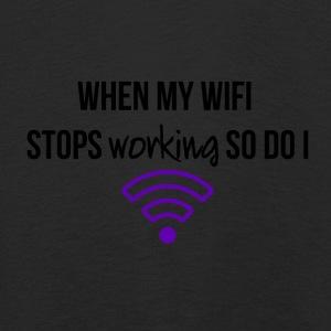 When my WiFi stops working - Kids' Premium Longsleeve Shirt