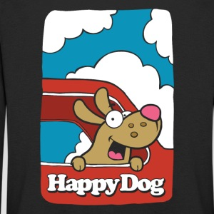 Happy_Dog - Premium langermet T-skjorte for barn