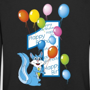 First squirrel birthday number 1 - Kids' Premium Longsleeve Shirt