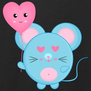 Blue mouse - Kids' Premium Longsleeve Shirt