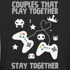 Couples that play game together - Kinder Premium Langarmshirt
