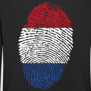 Fingerprint - Netherlands - Kids' Premium Longsleeve Shirt