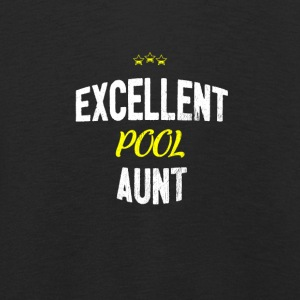 Distressed - EXCELLENT POOL AUNT - Kids' Premium Longsleeve Shirt