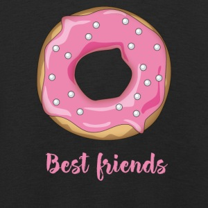 Donut favorite food sweet snack pink sugar lo - Kids' Premium Longsleeve Shirt