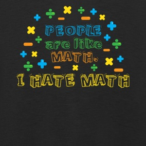 People are like math, I hate math - Kids' Premium Longsleeve Shirt