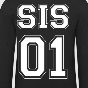 SIS 01 - White Edition - Premium langermet T-skjorte for barn