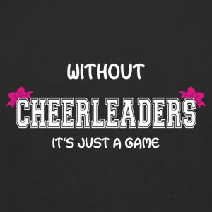 CheerleaderCollection Just A Game White - Kids' Premium Longsleeve Shirt