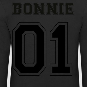 BONNIE 01 - Black Edition - Kinder Premium Langarmshirt