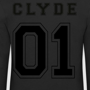 CLYDE 01 - Black Edition - Premium langermet T-skjorte for barn