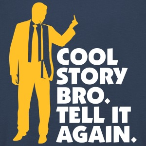 Cool Story Brother. Tell It Again. - Kids' Premium Longsleeve Shirt