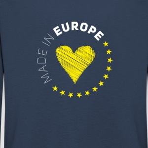 made in Europe love EU europe no Proposed referendum on United Kingdom membership of the European Union Euro star - Kids' Premium Longsleeve Shirt