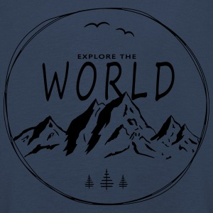 Explore the world - Kids' Premium Longsleeve Shirt