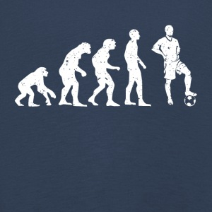 EVOLUTION FUSSBALL! - Kinder Premium Langarmshirt