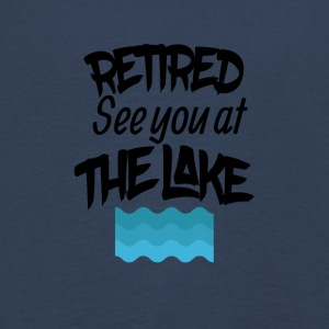 Retired lake you at the lake - Kids' Premium Longsleeve Shirt