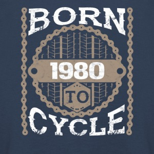 Born to cycle moutainbike bicycle 1980 - Kids' Premium Longsleeve Shirt