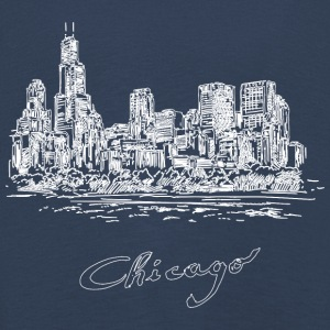 Chicago City - United States - Långärmad premium-T-shirt barn