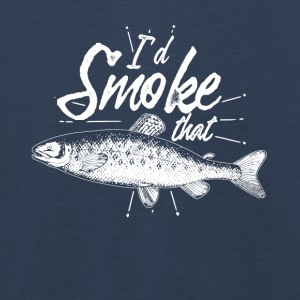 Gift for anglers the smoking - Kids' Premium Longsleeve Shirt