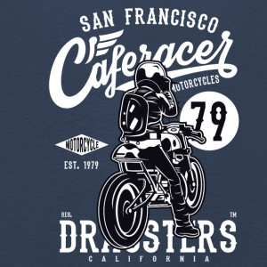 Caferacer San Francisco 79. Motorcycles California - Kids' Premium Longsleeve Shirt