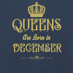 Queens Are Born In DECEMBER - Kids' Premium Longsleeve Shirt