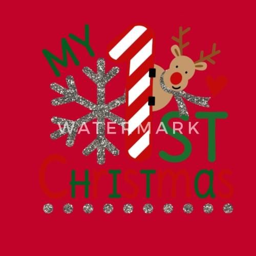 Mein Erstes Weihnachten Geschenk Idee Kinder Premium Langarmshirt