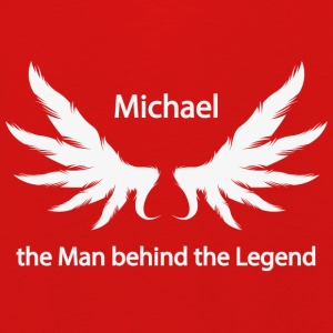 Michael the Man behind the Legend - Kinder Premium Langarmshirt